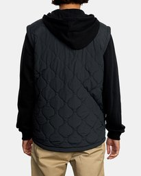 2 Grant Hooded Puffer Jacket Black AVYFT00205 RVCA