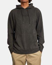 1 Tonally Pullover Hoodie Black AVYFT00210 RVCA