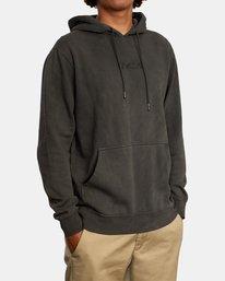 5 Tonally Pullover Hoodie Black AVYFT00210 RVCA