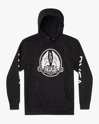 0 Gary Turner Sweatshirt Black AVYFT00229 RVCA