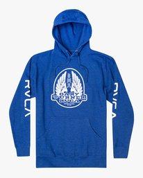 0 Gary Turner Sweatshirt Blue AVYFT00229 RVCA