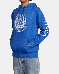 4 Gary Turner Hoodie Blue AVYFT00229 RVCA