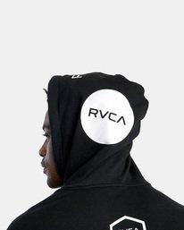 12 All Brand Sport Workout Hoodie Black AVYFT00251 RVCA