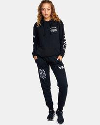 5 Seniesa Estrada | VA Sport x Seniesa Superbad Pullover Hoodie Black AVYFT00262 RVCA