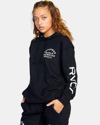 6 Seniesa Estrada | VA Sport x Seniesa Superbad Pullover Hoodie Black AVYFT00262 RVCA