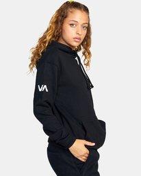 8 Seniesa Estrada | VA Sport x Seniesa Superbad Pullover Hoodie Black AVYFT00262 RVCA