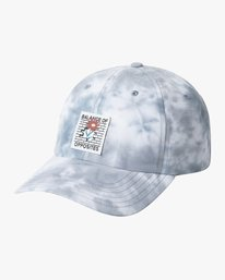 0 BALOF STRAPBACK HAT White AVYHA00131 RVCA