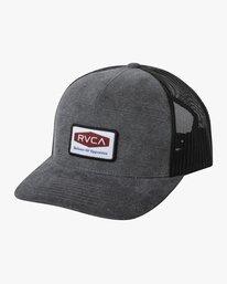 0 BUCK TRUCKER HAT Grey AVYHA00142 RVCA
