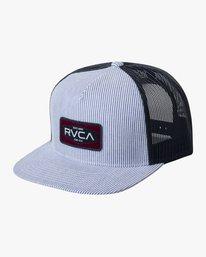 0 ENGINE TRUCKER HAT Blue AVYHA00146 RVCA
