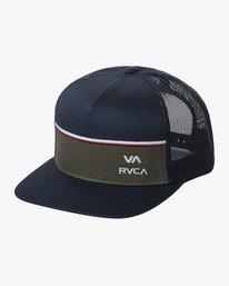 0 PIER TRUCKER HAT Blue AVYHA00151 RVCA
