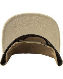 3 RVCA Square Snapback Hat Multicolor AVYHA00152 RVCA