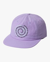 0 SWIRLS SNAPBACK HAT Purple AVYHA00157 RVCA