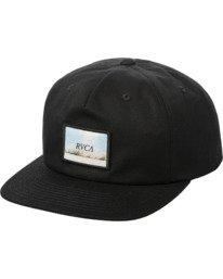 0 Dusk Til Dawn Snapback Hat Black AVYHA00176 RVCA
