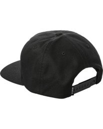 3 Dusk Til Dawn Snapback Hat Black AVYHA00176 RVCA