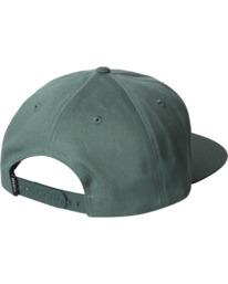 1 MAIN SNAPBACK HAT Green AVYHA00184 RVCA