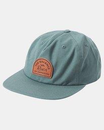 0 MAIN SNAPBACK HAT Green AVYHA00184 RVCA