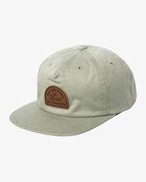 0 MAIN SNAPBACK HAT White AVYHA00184 RVCA