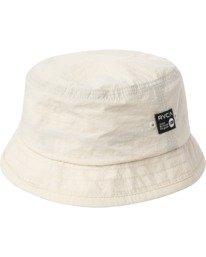 0 ANP Bucket Hat White AVYHA00187 RVCA
