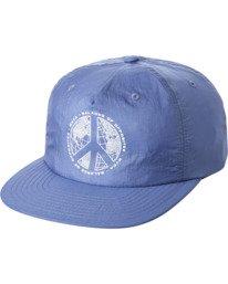 0 Pascifist Snapback Hat Blue AVYHA00195 RVCA