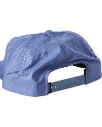 2 Pascifist Snapback Hat Blue AVYHA00195 RVCA