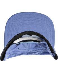 3 Pascifist Snapback Hat Blue AVYHA00195 RVCA