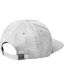 1 Hastings Claspback Hat Grey AVYHA00197 RVCA
