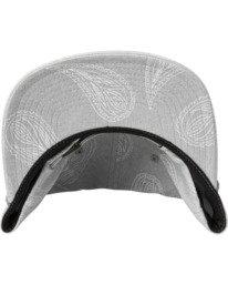 3 Hastings Claspback Hat Grey AVYHA00197 RVCA