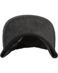 4 Curren Caples   Tonally Corduroy Claspback Hat Black AVYHA00198 RVCA