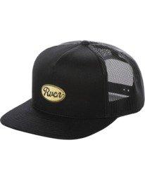 0 Drill Trucker Hat Black AVYHA00201 RVCA