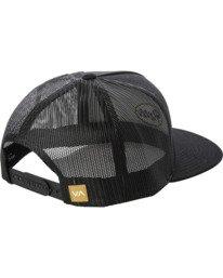 1 Drill Trucker Hat Black AVYHA00201 RVCA