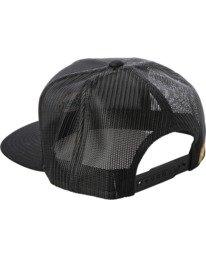 2 Drill Trucker Hat Black AVYHA00201 RVCA