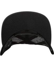 3 Drill Trucker Hat Black AVYHA00201 RVCA