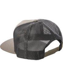 2 Drill Trucker Hat Grey AVYHA00201 RVCA