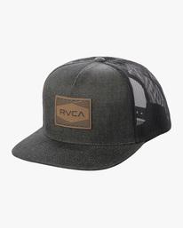 0 Badge Trucker Hat Grey AVYHA00202 RVCA