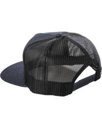 2 Badge Trucker Hat Blue AVYHA00202 RVCA