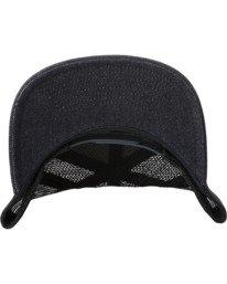 3 Badge Trucker Hat Blue AVYHA00202 RVCA