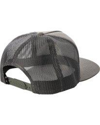 1 Stallion Trucker Hat Green AVYHA00203 RVCA