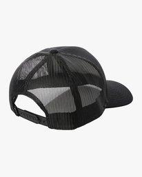 1 Ben Horton | Dead Fish Trucker II Hat Black AVYHA00205 RVCA