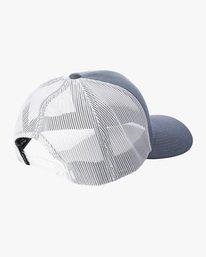 1 Ben Horton | Dead Fish Trucker II Hat Grey AVYHA00205 RVCA