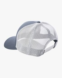 2 Ben Horton | Dead Fish Trucker II Hat Grey AVYHA00205 RVCA