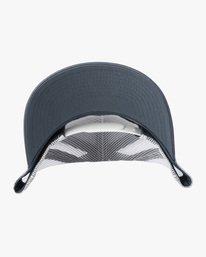 3 Ben Horton | Dead Fish Trucker II Hat Grey AVYHA00205 RVCA