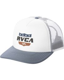 0 Rodeo Trucker Hat White AVYHA00210 RVCA