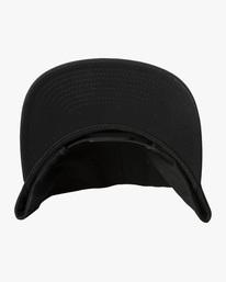 3 Espo | RVCA x Espo Snapback Hat Black AVYHA00216 RVCA