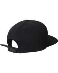 1 Pennant Claspback Hat Black AVYHA00221 RVCA