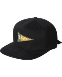 0 Pennant Claspback Hat Black AVYHA00221 RVCA