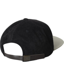 1 Regal Corduroy Hat Black AVYHA00222 RVCA