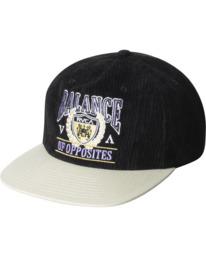 0 Regal Corduroy Hat Black AVYHA00222 RVCA