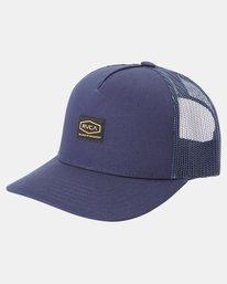 0 Day Shift Trucker Hat Blue AVYHA00232 RVCA