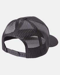 3 Day Shift Trucker Hat Black AVYHA00232 RVCA