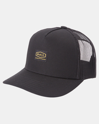 2 Day Shift Trucker Hat Black AVYHA00232 RVCA